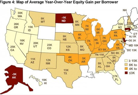 Texas Has Highest Percentage of Homes with Positive Equity